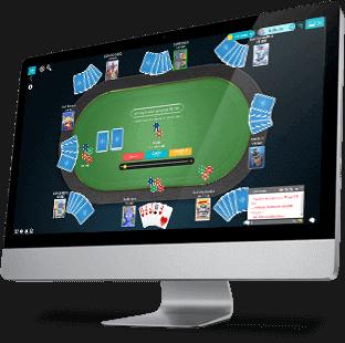 Jogando Poker Online no MegaJogos