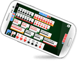 jogo canastra online do MegaJogos no celular