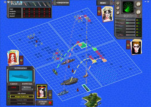Mega Batalha Naval Online MegaJogos