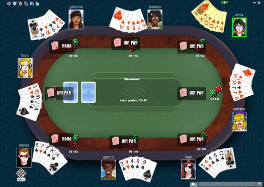 Poker Online MegaJogos