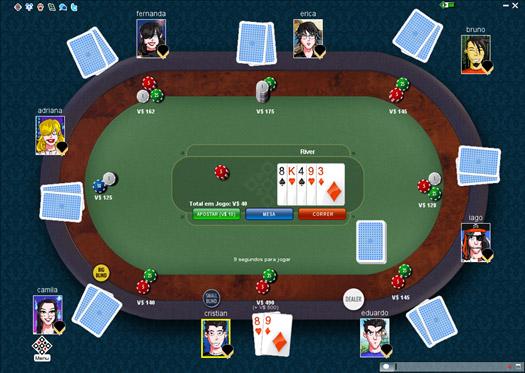 Texas Hold'em Online MegaJogos