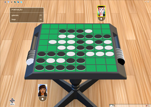 Reversi Online MegaJogos